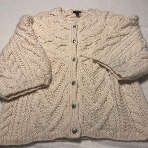 Ann Taylor chunky cable sweater